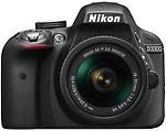 Nikon D3300 (Body with AF-P DX NIKKOR 18 - 55 mm F3.5 - 5.6 VR Kit Lens) DSLR Camera