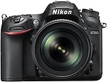 Nikon D7200 DSLR Camera ( Body with AF-S 18 - 105 mm VR Lens )