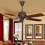 FANZART Monarch- Vintage Wooden Ceiling Fan
