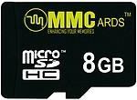 MMC MicroSDHC 8 GB Class 10
