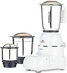 New Bajaj Glory 500-Watt Mixer grinder with 3 Jars Small Kitchen
