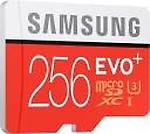 Samsung 256GB EVO Plus Class 10 UHS-I microSDXC U3