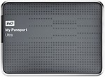 WD My Passport Ultra (WDBZFP0010BBK-NESN) 1 TB Portable External Hard Drive