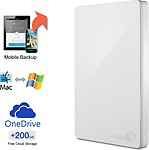 Seagate Backup Plus Slim 2 TB Wired HDD External Hard Drive