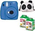 Fujifilm Mini 9 Lime Green with Case and 40 Shots Instant Camera