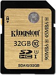 Kingston SDHC 32 GB Class 10