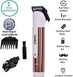 Kemei KM Brown Professional Hair Trimmer For Men