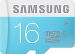 Samsung Micro SD Card 16GB Class 6 ,Multicolor