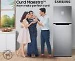 Samsung 407 L 3 Star Inverter Frost-Free Double Door Refrigerator (RT42T5C5EDX/TL, Luxe)