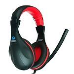 Zoook ZM-H713 On-Ear Headphones (Black)