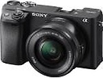 Sony Alpha ILCE-6400L 24.2MP with 16-50mm Power Zoom Lens Mirrorless Digital SLR Camera
