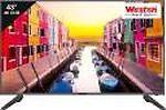 Weston 108cm (43 inch) Ultra HD (4K) LED Smart TV(4300U)