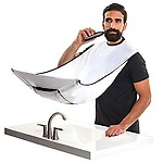 SBE 120 X 80cm New Man Bathroom Apron Beard Care Trimmer Hair Catcher Shave Apron Gown Sink Tool