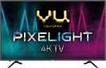 Vu Pixelight 126cm (50 inch) Ultra HD (4K) LED Smart TV(50-QDV)