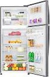 LG 516 L 3 Star Inverter Frost-Free Double Door Refrigerator (GN-H602HLHQ)