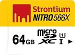 Strontium 64GB Nitro MicroSD Card