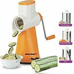 Kitchen Bazaar Premium Drum Grater Shredder Slicer for Vegetables,Fruits,Chocolates,Dry-Fruits,Pasta Salad Maker