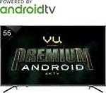 Vu Premium Android 138cm (55 inch) Ultra HD (4K) LED Smart TV(55-OA)