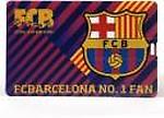 F.C. Barcelona Credit Card 8GB OTG Drive
