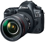 Canon EOS 5D Mark IV 30.4 MP Digital SLR Camera + EF 24-105mm IS II USM Lens Kit