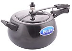 Bestech Metal Hard Anodized Pressure Cooker, 14.5 x 22, Pack of 1