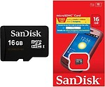 SanDisk microSDHC 16 GB Class 4 Memory Card (Pack Of 5)