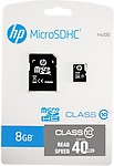 Hp 8 Gb Micro Sdhc Memory Card