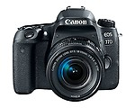 Canon EOS 77D 24.2MP Digital SLR Camera + EF-S 18-55mm 4-5.6 IS STM Lens