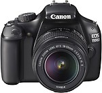 Canon EOS 1100D Kit III DSLR Camera with EF-S 18-55 mm IS and 55-250 mm Dual Lens Kit