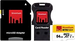 Strontium Nitro 64 GB MicroSD Card Class 10 85 MB/s Memory Card