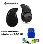 MacBerry Redmi 3S Prime Compatible Set of Cute Little OTG Adaptor+ smart Bluetooth Headset