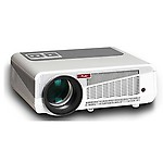 Play White and Grey Full HD Portable LED Projector