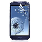 Branded Transparent Screen Protector for Samsung I9300 Galaxy S III