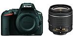 Nikon D5500 (Body with AF-P DX NIKKOR 18-55 mm F/3.5-5.6G VR Kit) DSLR Camera