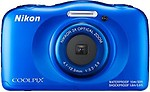 Nikon Coolpix W100 Point and Shoot Camera(Blue 13 MP)