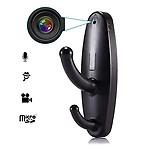 AGPtek HD Plus HD Clothes Hook Hanger Spy Hidden Camera DVR Video Recorder Motion Detection Cam