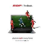 "RDP ThinBook 1130-EC1 (Intel Quad Core 1.92 GHz Processor/2GB RAM/32GB Storage/Windows 10/10.5 Hours Battery Backup) 11.6"" HD IPS Display"