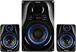 Philips Philips MMS2580B Portable Bluetooth Home Audio Speaker