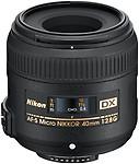Nikon AF-S DX Micro NIKKOR 40mm F 2.8G Lens