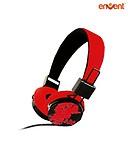 Envent ET-HP045 Ripple On-the-ear Headphone (Red)