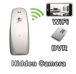 AGPtek WiFi Air Freshener Hidden Camera Spy Camera with Live Video Viewing