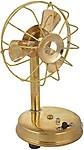 Artistic Handicrafts Brass Decorative Fan (17 cm x 9 cm x 9 cm)
