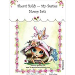My Besties My-Besties MYB43 Clear Stamp, Butterfly Betsy, 4-Inch x 6-Inch