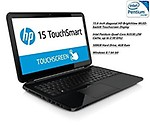 HP 15-r063nr 15.6 Touchscreen / Intel Pentium Quad-Core N3530 2.16 GHz / 4GB Memory / 500GB Hard Drive / SuperMulti DVD / Windows 8.1
