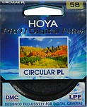 Hoya 58 mm Pro1 Digital Circular Polarizer Filter