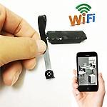 AGPtek Imported from Taiwan Mini Spy Camera Wireless WiFi IP Pinhole DIY Digital Video Camera Mini Micro DVR