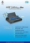 Tvs MSP 240 Monochrome Printer