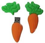 Microware 8GB Cartoon Vegetable Carrot Shape Gift USB Flash Drive Pendrive