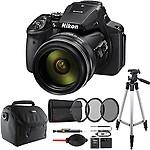 Nikon COOLPIX P900 16MP 83x Super Zoom 4k Wi-Fi GPS Digital Camera with Accesory Bundle