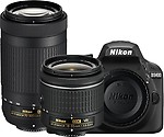 Nikon Digital CameraD3400 Kit with LensAF-P DX NIKKOR 18 - 55 mm f/3.5 - 5.6G VR & AF-P DX NIKKOR 70 - 300 mm f/4.5 - 6.3G ED VR DSLR Camera with Kit Lens (AF-P DX NIKKOR 18 - 55 mm f/3.5 - 5.6G VR + AF-P DX NIKKOR 70 - 300 mm f/4.5 - 6.3G ED VR)